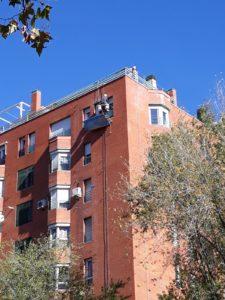 Trabajo sobre ladrillo en Madrid